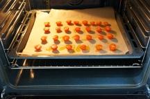 6. Place in oven for 30 minutes at 180C
